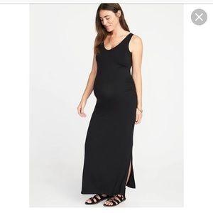 Old Navy Maternity Sleeveless Maxi Dress
